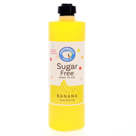 Banana Sugar Free Ready to Use Syrup, Pint (16 Fl. Oz)