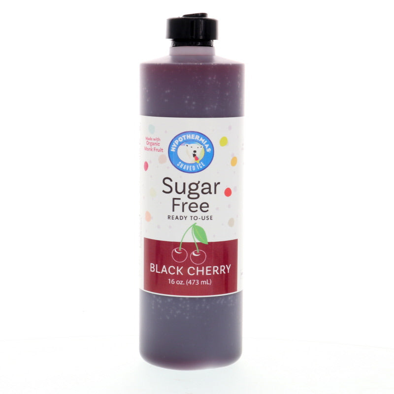 Black Cherry Sugar Free Ready to Use Syrup, Pint (16 Fl. Oz)