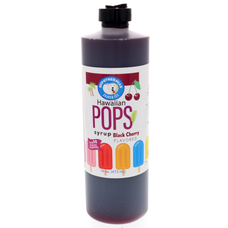 Black Cherry Hawaiian Pop Ready to Use Syrup