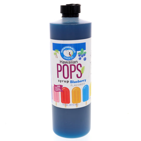 Blueberry Hawaiian Pop Ready to Use Syrup
