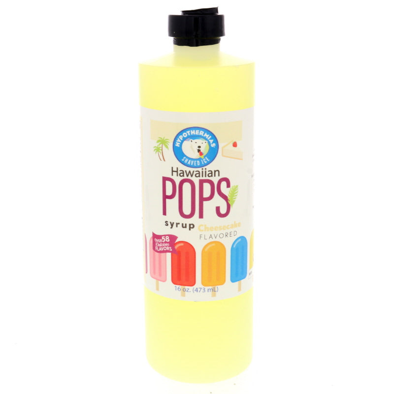 Cheesecake Hawaiian Pop Ready to Use Syrup