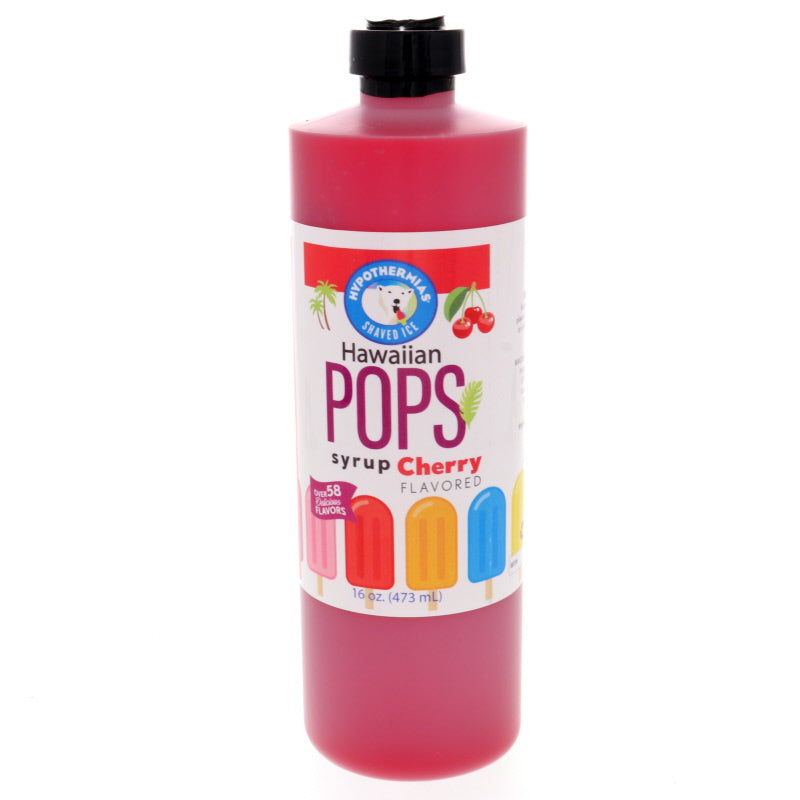 Cherry Hawaiian Pop Ready to Use Syrup
