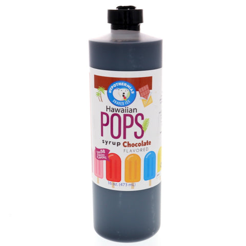 Chocolate Hawaiian Pop Ready to Use Syrup