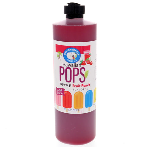 Fruit Punch Hawaiian Pop Ready to Use Syrup