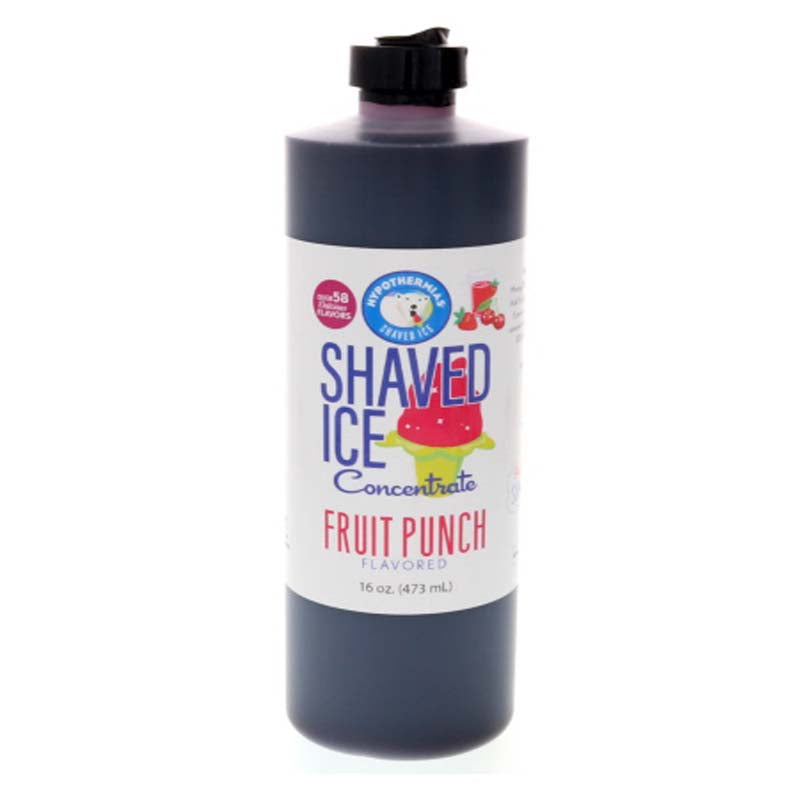 Fruit Punch shave ice syrup concentrate pint