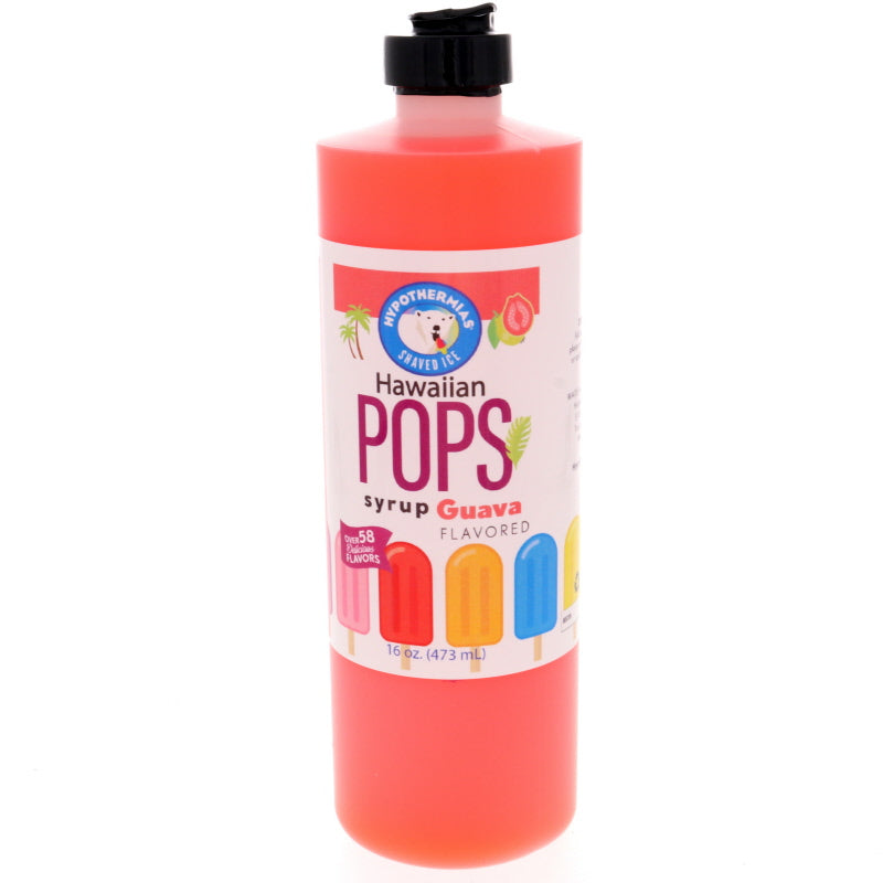 Guava Hawaiian Pop Ready to Use Syrup