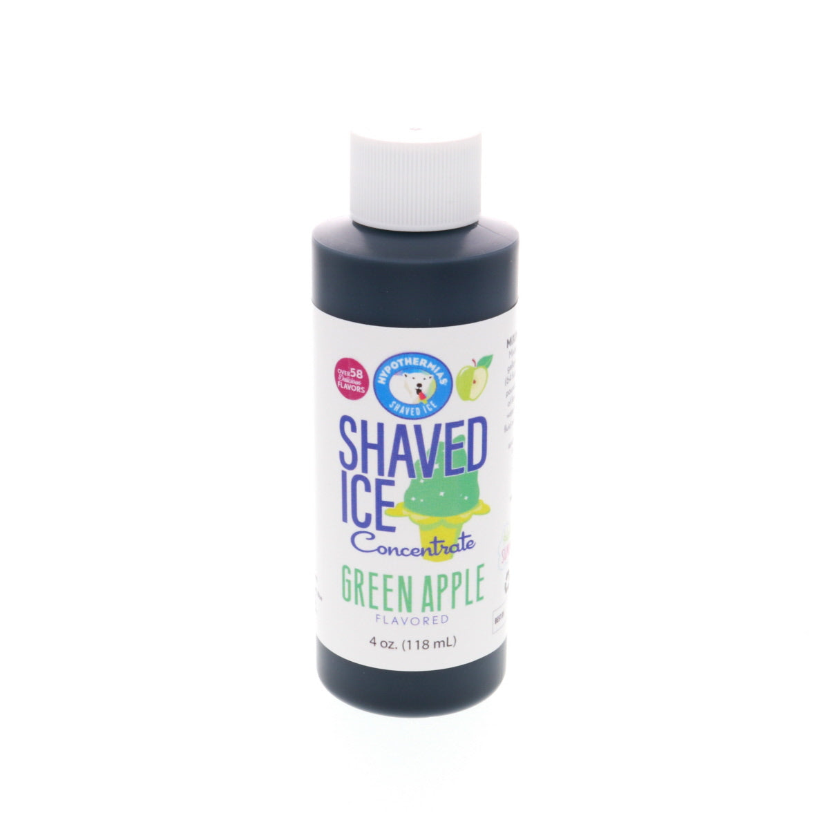 Green apple shave ice flavor concentrate 4 Fl Oz