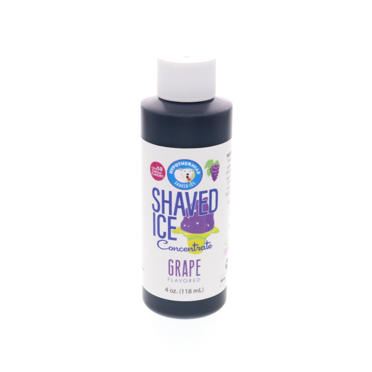 Grape flavor concentrate for shaved ice 4 Fl Oz