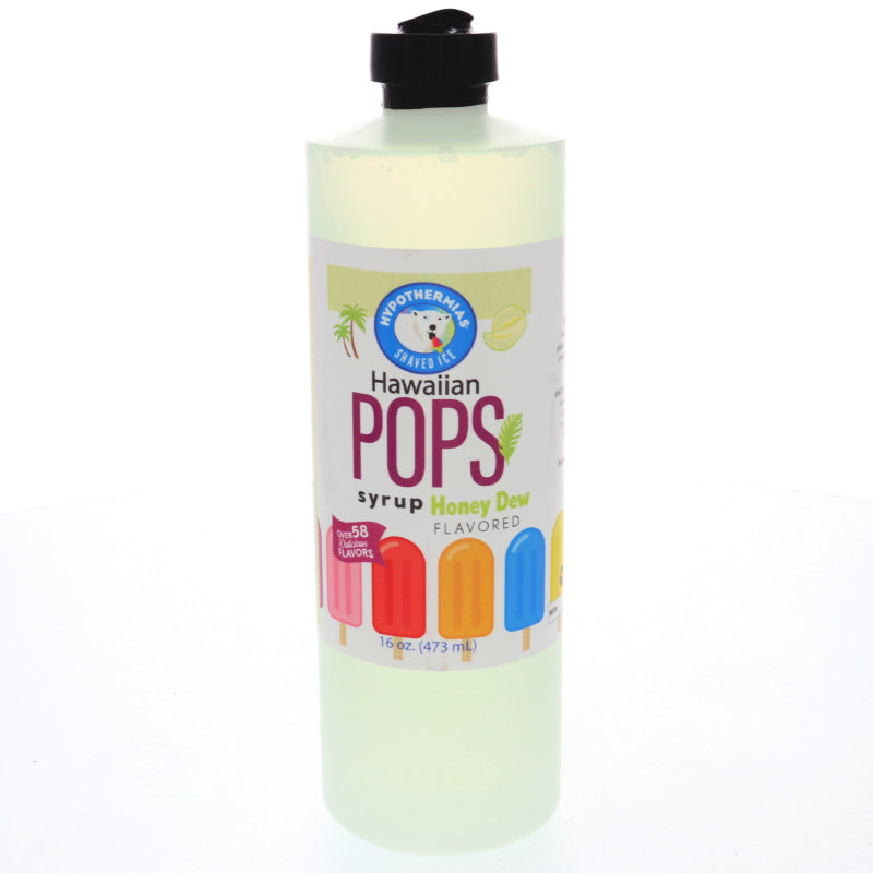 Honey Dew Hawaiian Pop Ready to Use Syrup