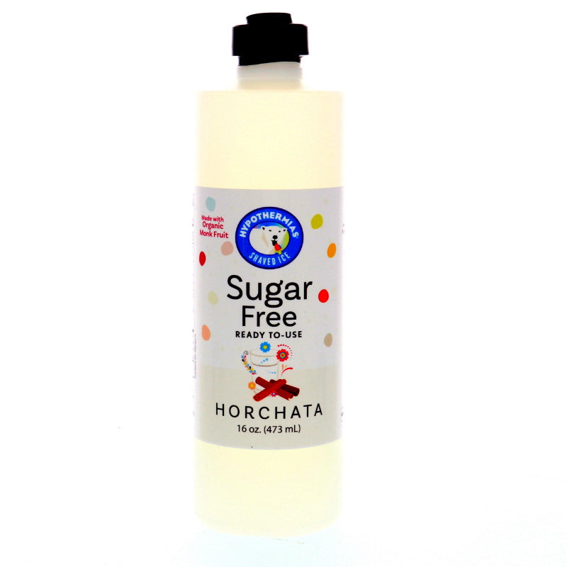 Horchata Sugar Free Ready to Use Syrup, Pint (16 Fl. Oz)