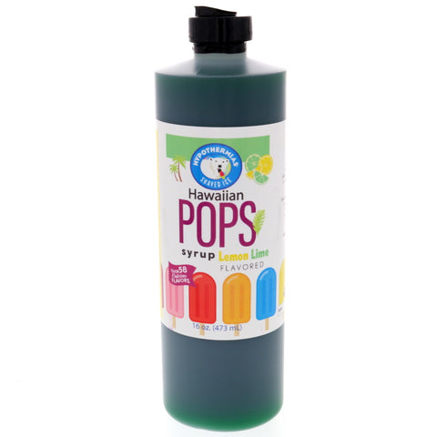 Lemon Lime Hawaiian Pop Ready to Use Syrup