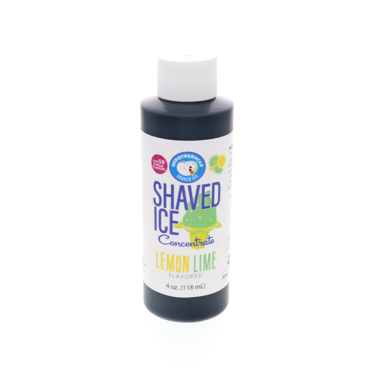 Lemon Lime Hawaiian shaved ice flavor syrup concentrate 4 Fl Oz