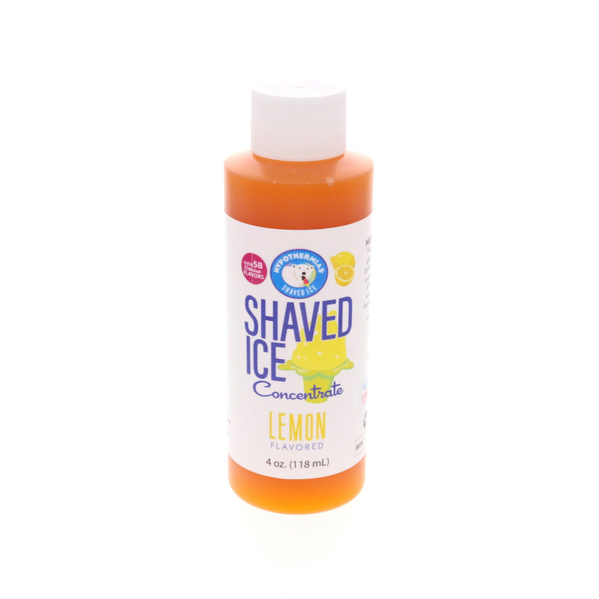 lemon shaved ice syrup concentrate 4 Fl Oz