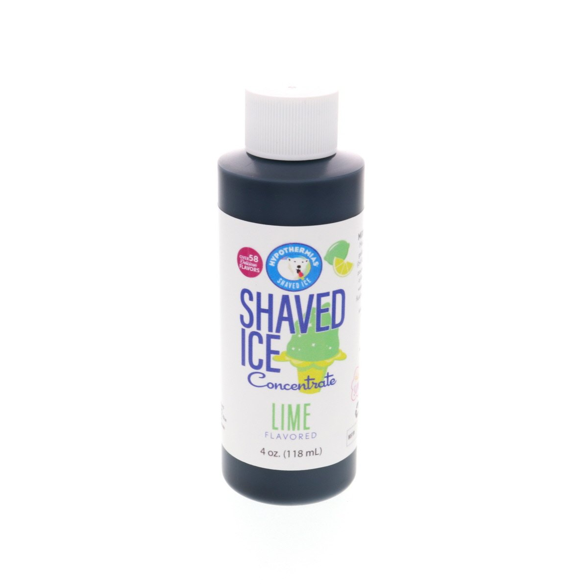 Hawaiian shaved ice lime flavor concentrate 4 Fl Oz