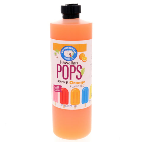 Orange Hawaiian Pop Ready to Use Syrup