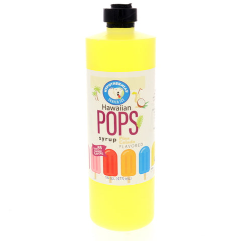 Pina Colada Hawaiian Pop Ready to Use Syrup