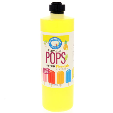 Pineapple Hawaiian Pop Ready to Use Syrup