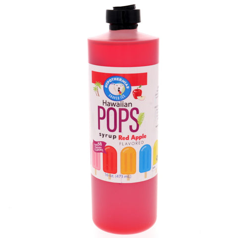 Red Apple Hawaiian Pop Ready to Use Syrup