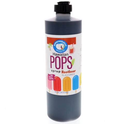Root Beer Hawaiian Pop Ready to Use Syrup