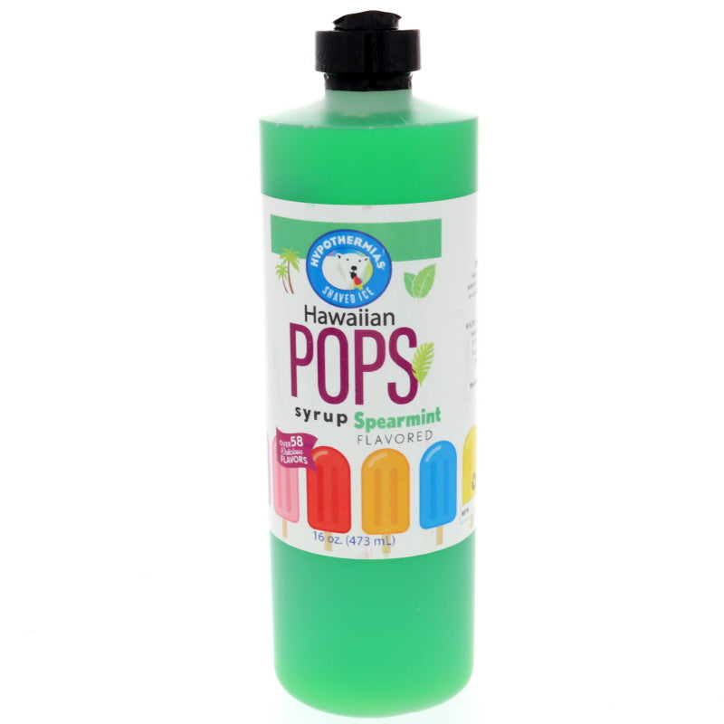 Spearmint Hawaiian Pop Ready to Use Syrup
