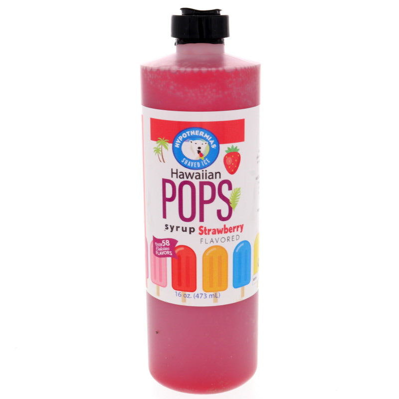 Strawberry Hawaiian Pop Ready to Use Syrup