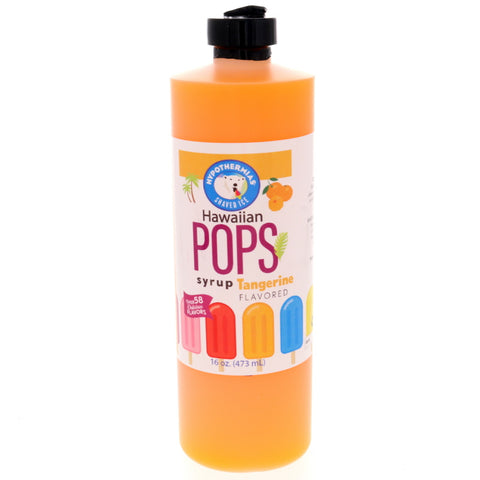 Tangerine Hawaiian Pop Ready to Use Syrup