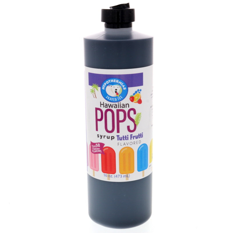 Tutti Frutti Hawaiian Pop Ready to Use Syrup