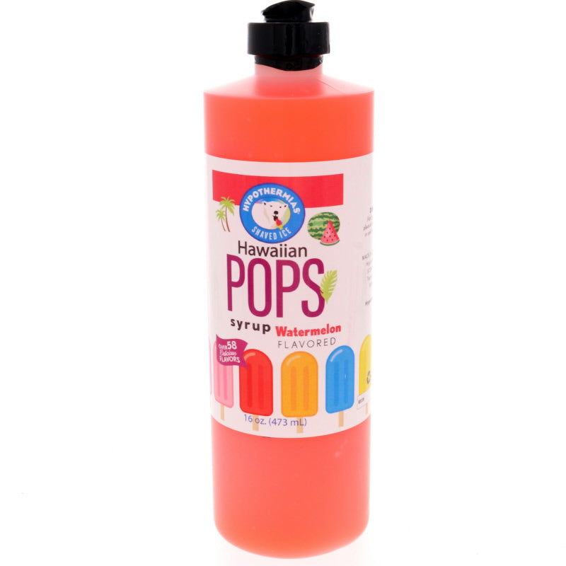 Watermelon Hawaiian Pop Ready to Use Syrup