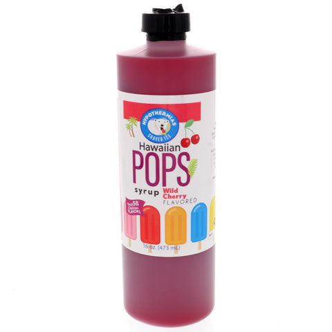 Wild Cherry Hawaiian Pop Ready to Use Syrup