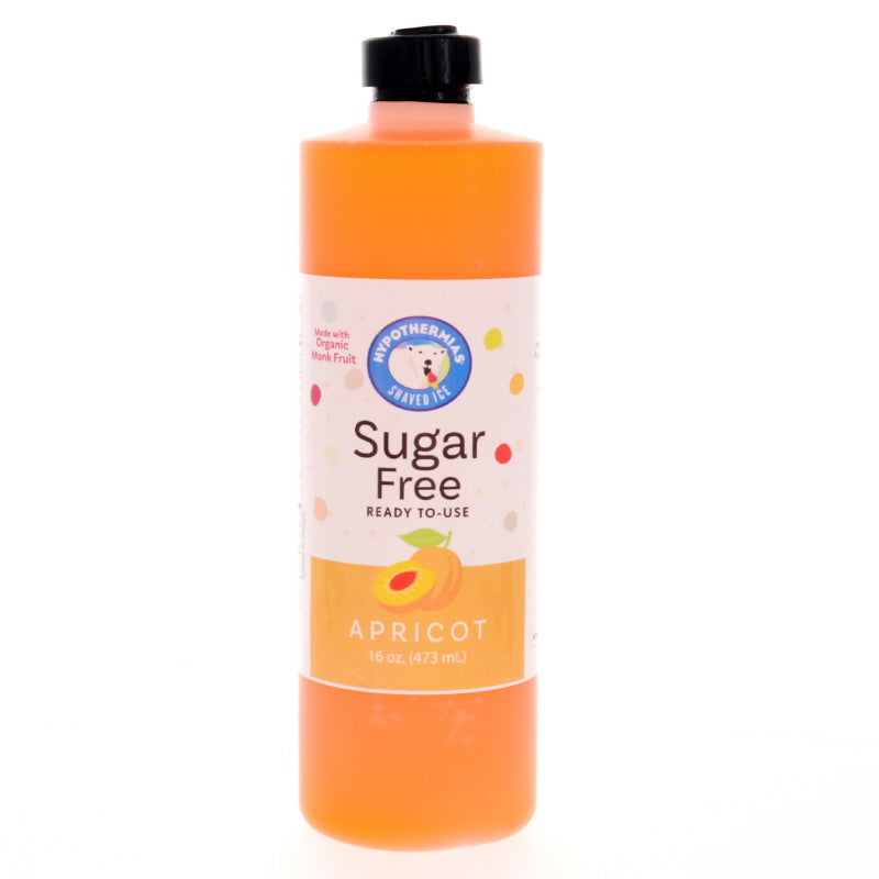 Apricot Sugar Free Ready to Use Syrup, Pint (16 Fl. Oz)