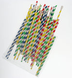 Bag of 100 Eco-Friendly Paper Spoonstraws