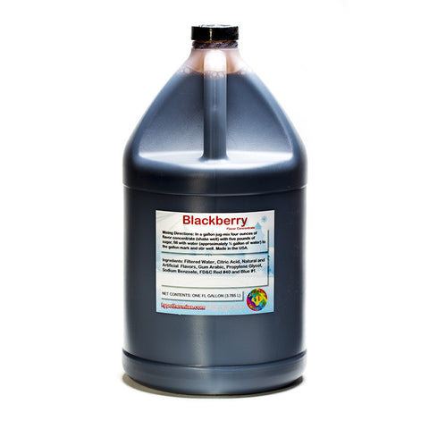 Blackberry Flavor Concentrate (Gallon, 128 Fl Oz) Yields 32 Gallons when Mixed with Sugar and Water