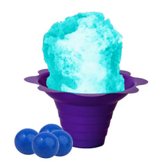 Blue bubble gum shaved ice flavor concentrate