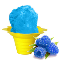 Blue raspberry shaved ice syrup flavor concentarte