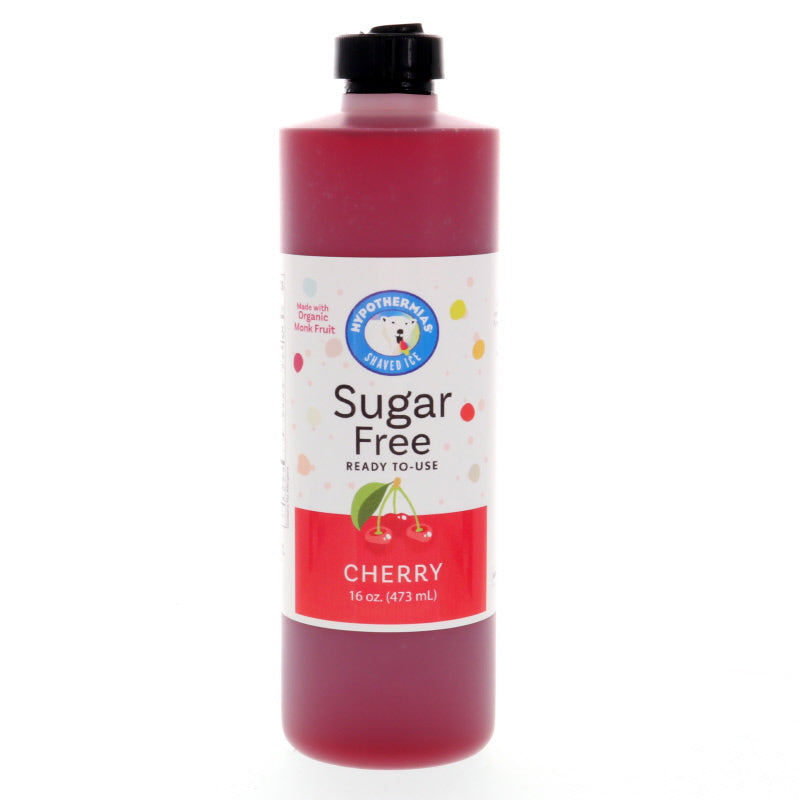 Cherry Sugar Free Ready to Use Syrup, Pint (16 Fl. Oz)