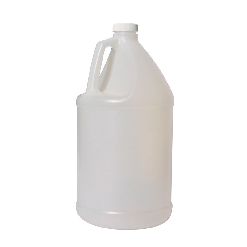 Plastic gallon jug empty with lids