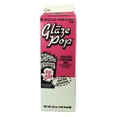 Popcorn flavoring glaze pop red hot cinnamon Gold Medal 2526