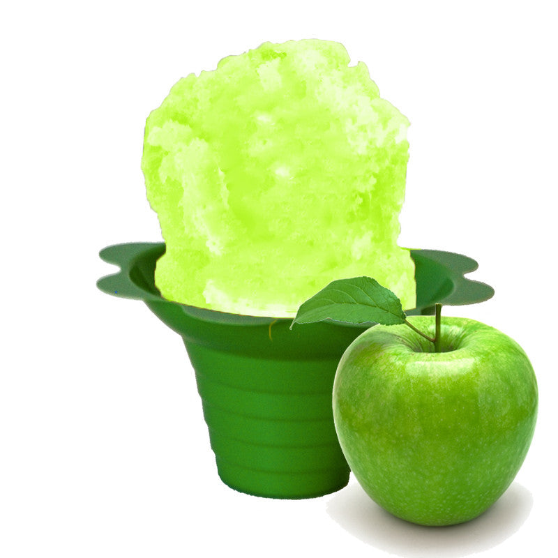 Green apple shaved ice flavor syrup concentrate