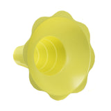 Shaved ice flower cup large 12 ounce yellow
