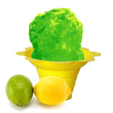 Lemon lime shaved ice flavor syrup concentrate