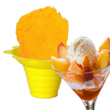 Peaches and cream shaved ice flavor syrup concentrate