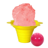 Pink bubble gum shaved ice flavor syrup concentrate