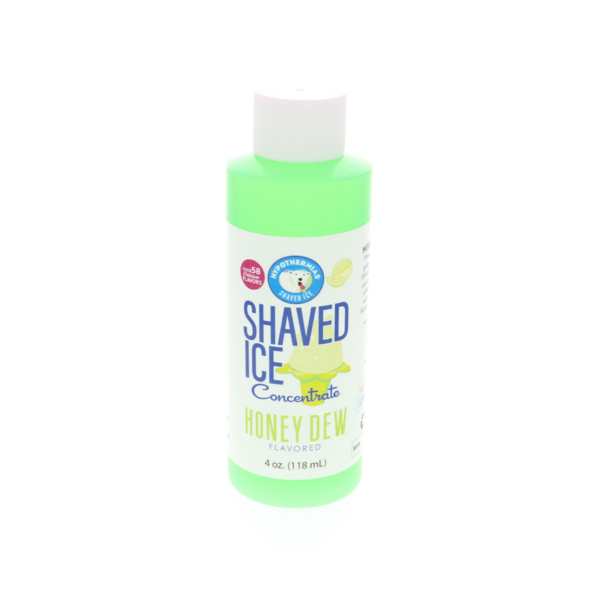 Honey Dew shave ice flavor concentrate syrup 4 Fl Oz