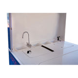 Shave ice cart turnkey sink system