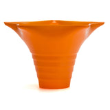 Snow cone cup star orange