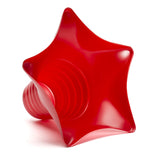 Shaved ice star cup 6 ounce red