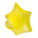 Shaved ice star cup 6 ounce yellow