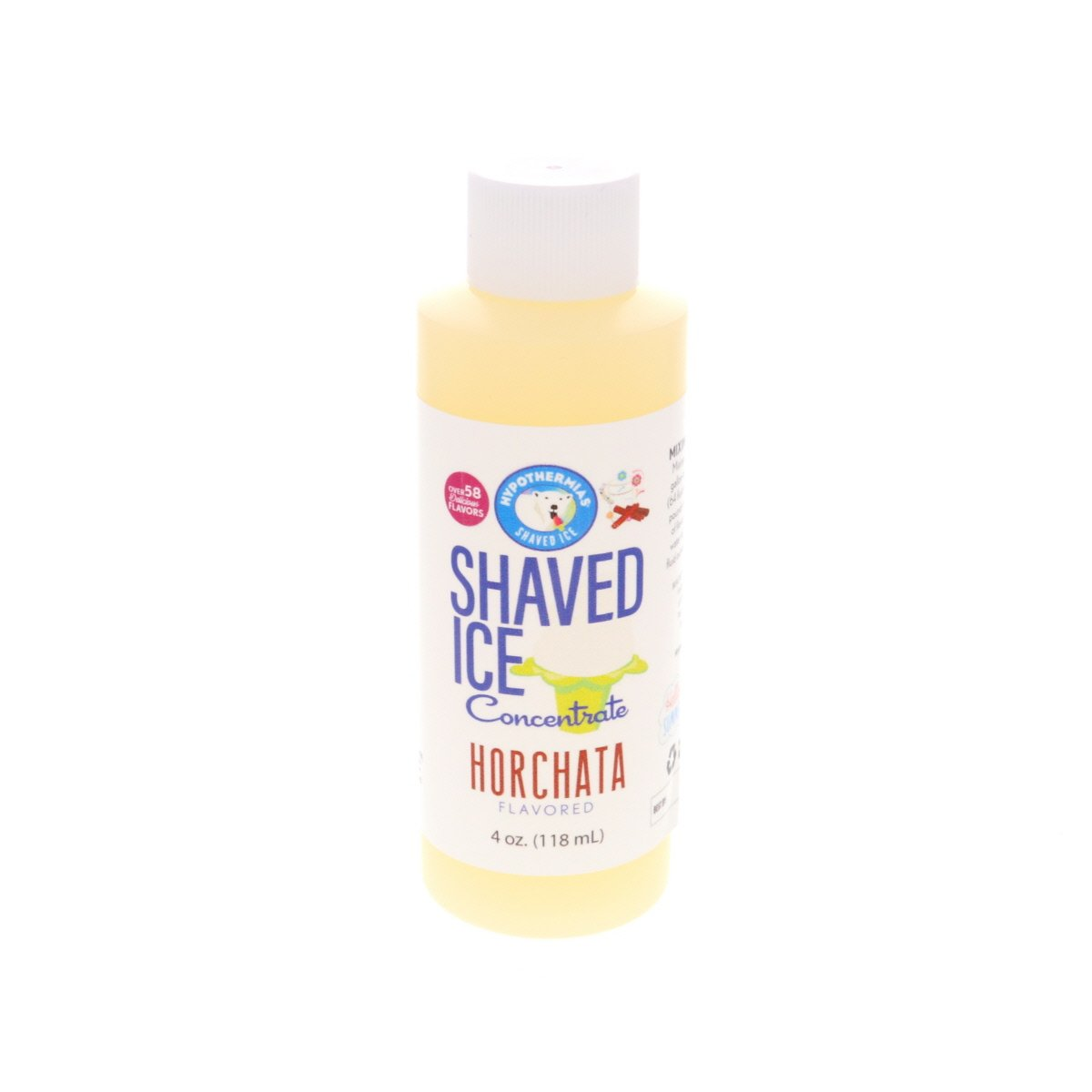 Shaved ice flavor concentrate horchata syrup 4 Fl Oz