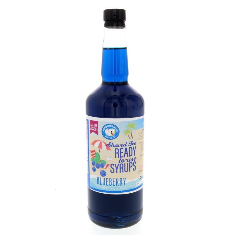 Ready to use snow cone syrup blueberry