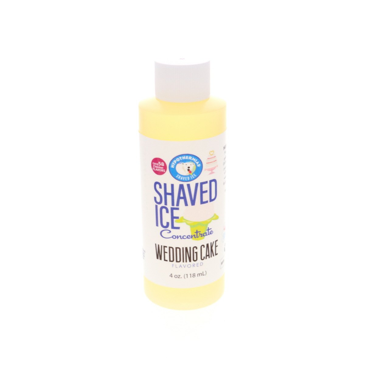 concentrate for shaved ice wedding cake 4 Fl Oz